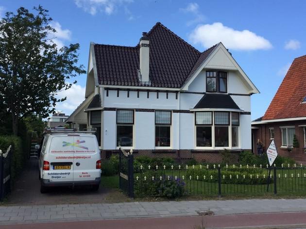 Woning in Appingedam geschilderd en glas-in-lo... - Schildersbedrijf Dreijer Beerta