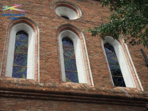 Glas in lood Martinikerk Groningen - Schildersbedrijf Dreijer Beerta