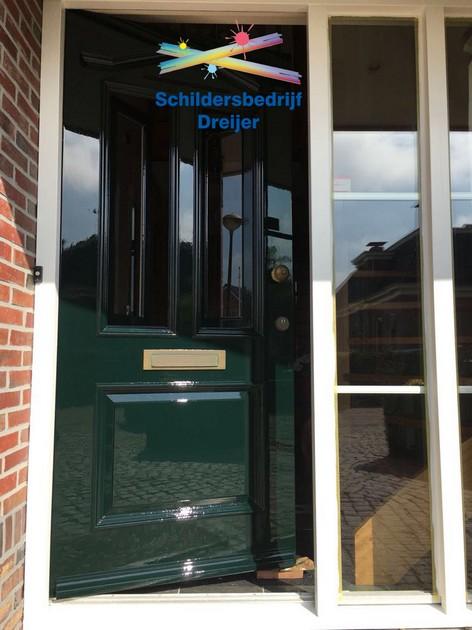 Geschilderd en boeidelen vervangen in Scheemda - Schildersbedrijf Dreijer Beerta