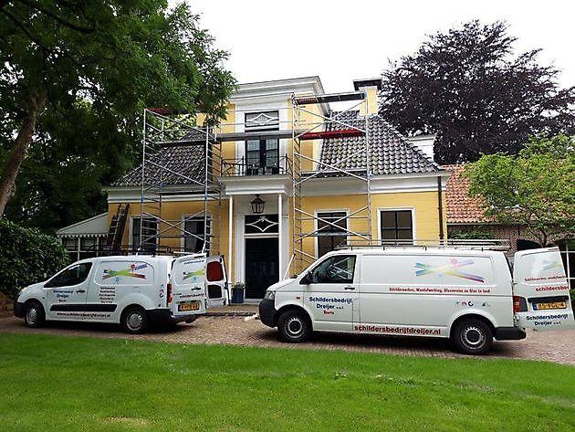 De gebroeders Dreijer uit Beerta, Groningen - Schildersbedrijf Dreijer Beerta