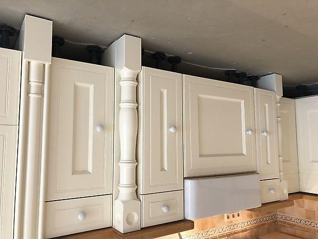 Keuken spuiten in Kropswolde - Schildersbedrijf Dreijer Beerta