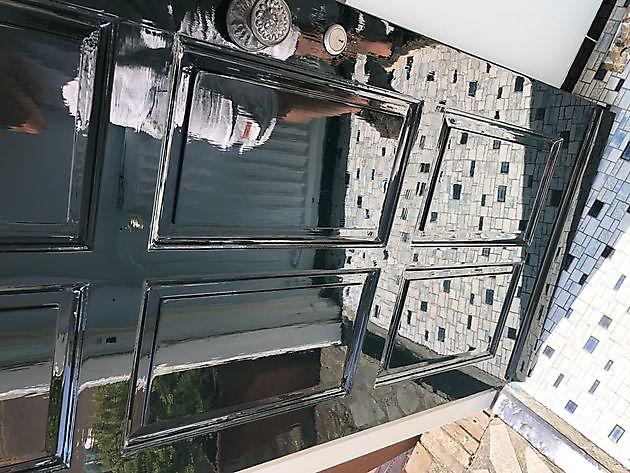 Buitenschilderwerk deuren en kozijnen - Schildersbedrijf Dreijer Beerta