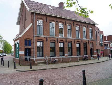 Werkzaamheden voormalig postkantoor Scheemda - Schildersbedrijf Dreijer Beerta