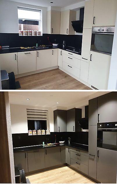 'Nieuwe' keuken - Schildersbedrijf Dreijer Beerta