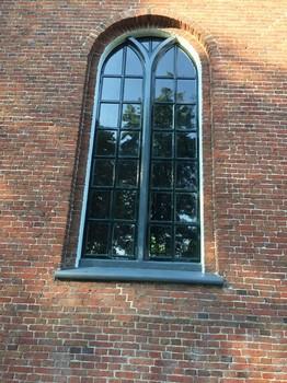 Kerk in Blijham geschilderd Schildersbedrijf Dreijer Beerta