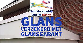Gegarandeerde glans met GlansGarant Schildersbedrijf Dreijer Beerta