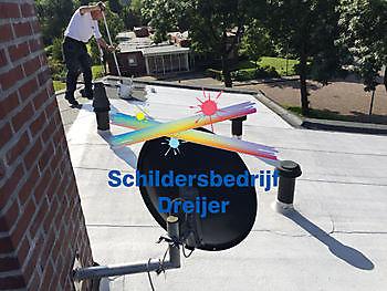 Houd de warmte buiten met Topshield dak coating Schildersbedrijf Dreijer Beerta