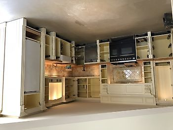Keuken spuiten in Kropswolde Schildersbedrijf Dreijer Beerta